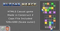 Blocks Merge - HTML5 Casual Game